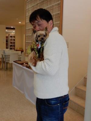 ローズちゃん・ナッツちゃんのお参りに来てくれたラッキーちゃんとハッピーちゃん (2)